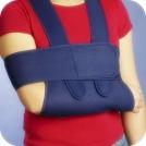 Suporte de braço com banda torácica
