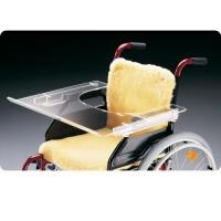 Tabuleiro de Acrílico para Cadeira de Rodas
