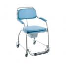 Cadeira Sanitária Omega com Rodízios