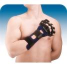 Tala imobilizadora de mão anti-espasmódica